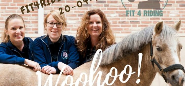 Fit4Riding is in de lucht!!!